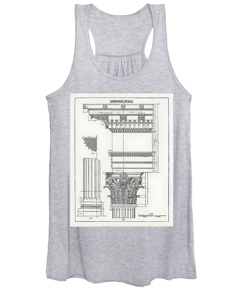 Corinthian Architecture Women's Tank Top
