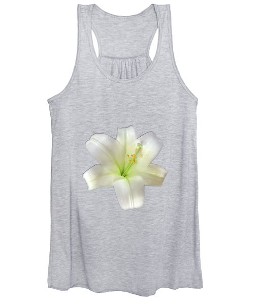 Cotton Seed Lilies Women's Tank Top