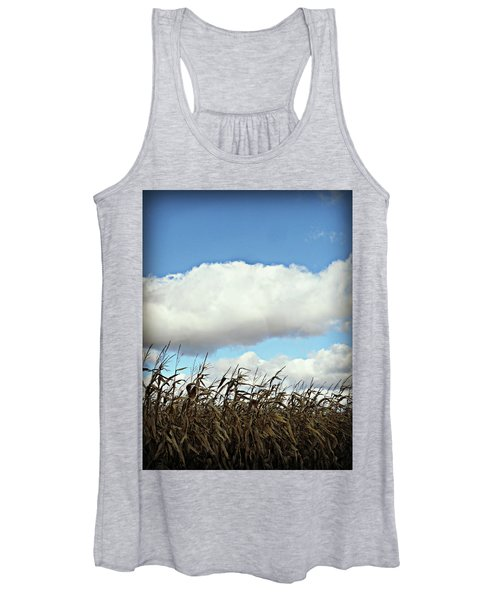 Country Autumn Cuves 5 Women's Tank Top
