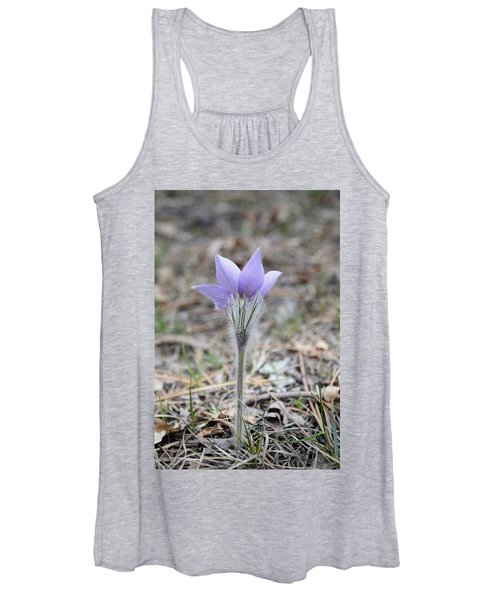 Crocus Detail Women's Tank Top