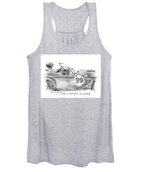 Dan Gurney Racing Ac Cobra 289 Women's Tank Top
