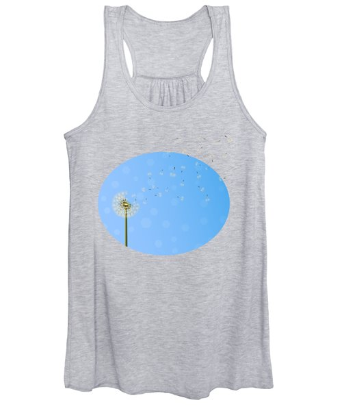 Dandelion Seed Escape Women's Tank Top
