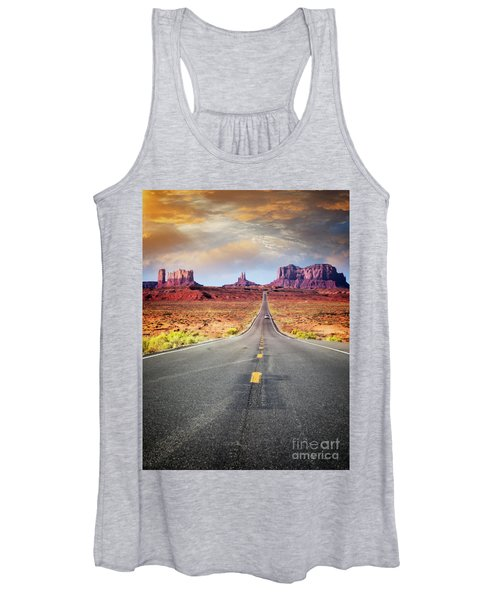 Desert Drive Women's Tank Top