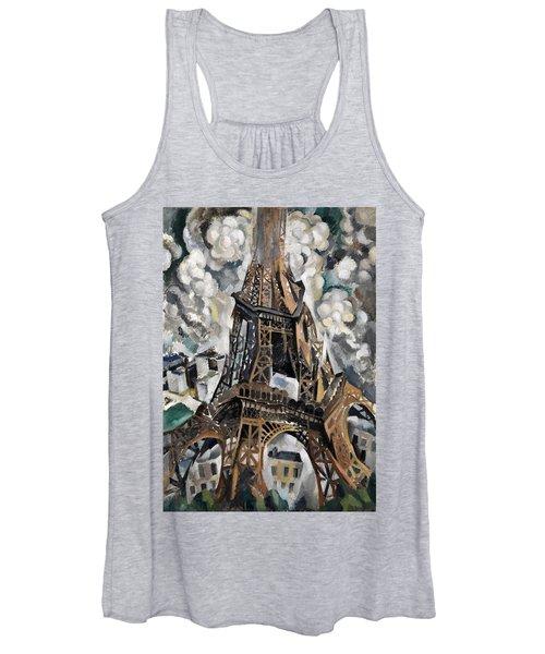Digital Remastered Edition - Tour Eiffel 1910 Women's Tank Top