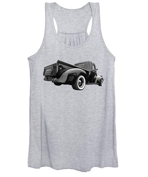 Dodge Truck 1947 Rear View Women's Tank Top