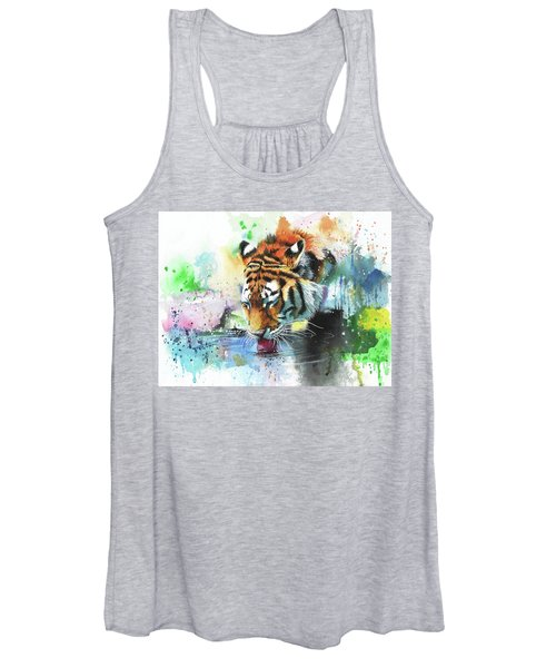 Dousing The Fire Women's Tank Top