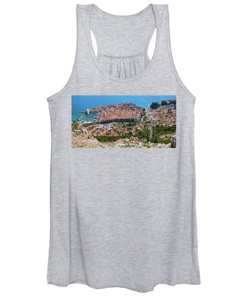 Dubrovnik Panorama From The Hill Women's Tank Top