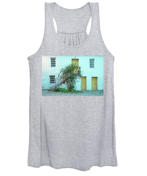 Dunkeld. The Cathedral Square. Women's Tank Top