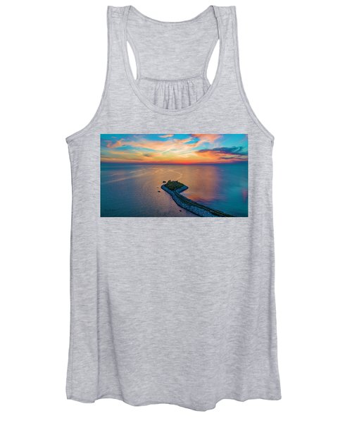 Dusk At The Knob Women's Tank Top