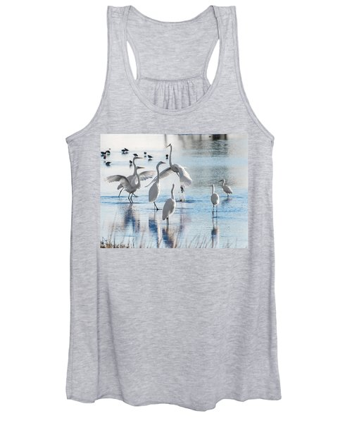 Egret Ballet 1400 Women's Tank Top