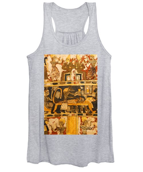Egyptian Wall Art Women's Tank Top