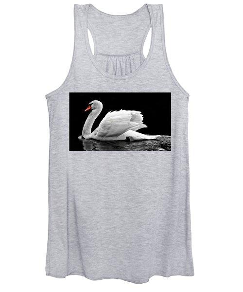 Elegant Swan Women's Tank Top