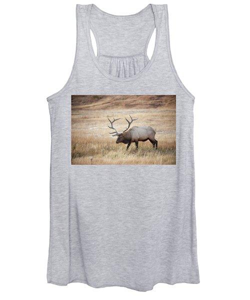 Elk In Yellowstone National Park Women's Tank Top