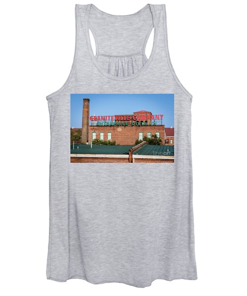 Enterprise Mill - Graniteville Company - Augusta Ga 2 Women's Tank Top