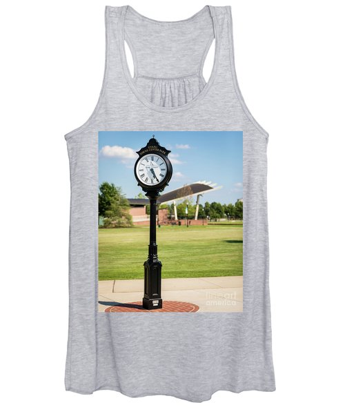 Evans Towne Center Park Clock - Columbia County Ga Women's Tank Top