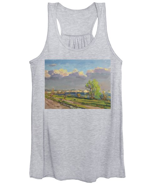 Evening At Gratwick Waterfront Park Women's Tank Top