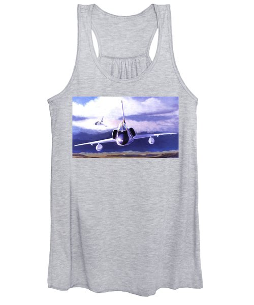 F-106a Head-on Women's Tank Top
