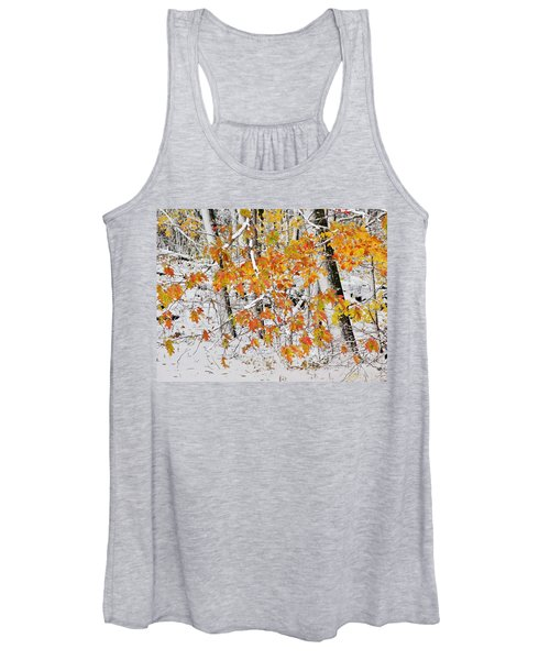 Fall And Snow Women's Tank Top