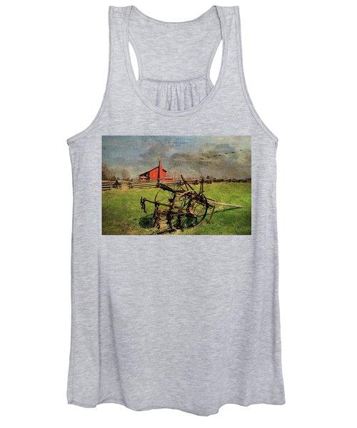 Farming In The 1880s Women's Tank Top
