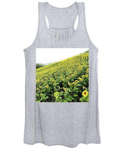 Fields Of Yellow Women's Tank Top
