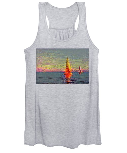 Fiery Kiss Women's Tank Top