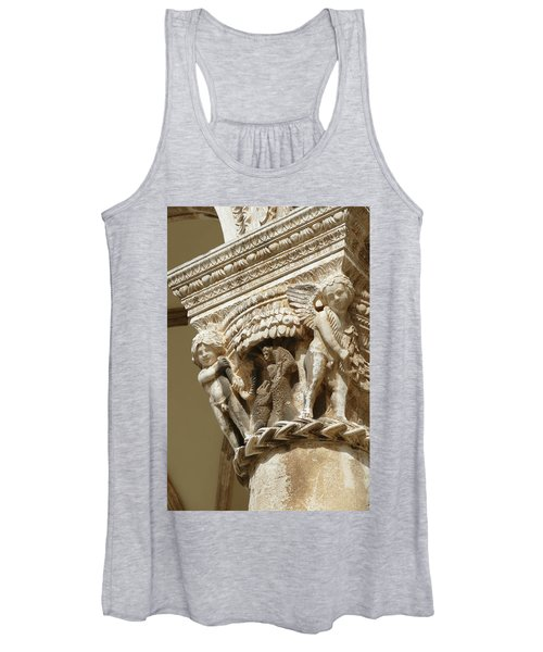 Figures On Capitals Of The Rector's Palace Women's Tank Top
