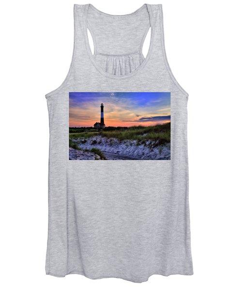 Fire Island Lighthouse Women's Tank Top