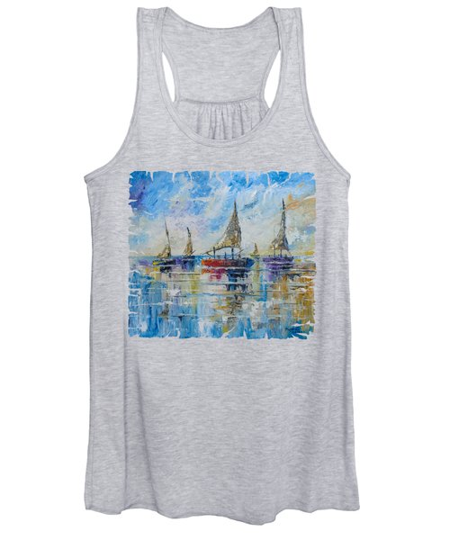 Five Boats Women's Tank Top