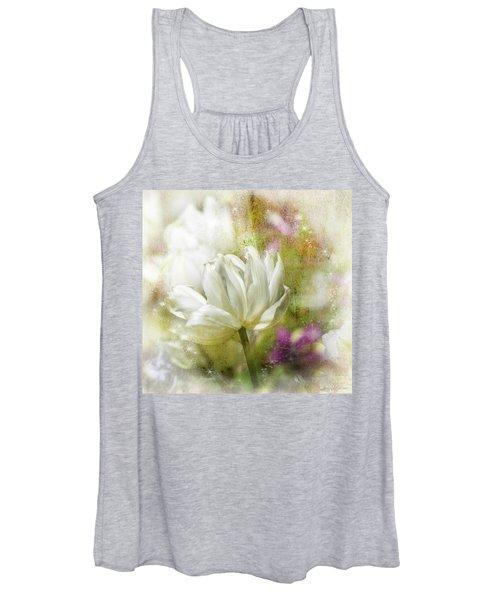Floral Dust Women's Tank Top