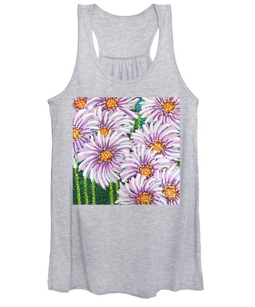 Floral Whimsy 1 Women's Tank Top