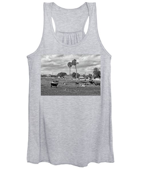 Florida Farmscape Women's Tank Top