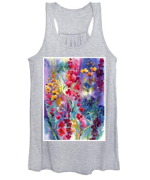 Flowers Fairy Tale Women's Tank Top