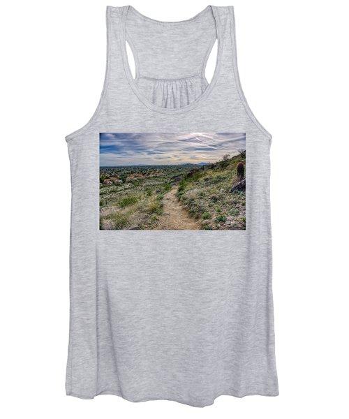 Following The Desert Path Women's Tank Top
