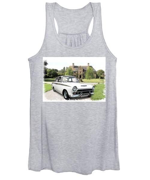 Ford 'lotus' Cortina Women's Tank Top