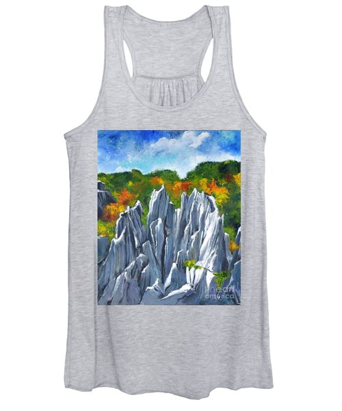 Forest Of Stones Women's Tank Top