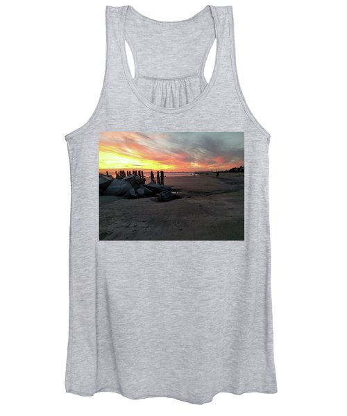 Fort Moultrie Sunset Women's Tank Top