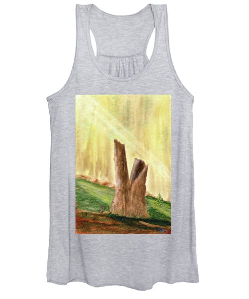 From Ruins Comes New Life Women's Tank Top