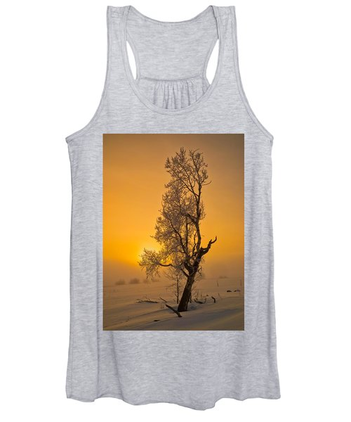 Frosted Tree Women's Tank Top