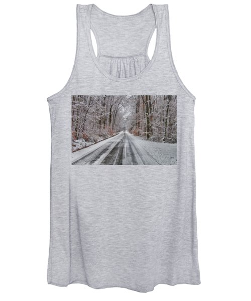 Frozen Road Women's Tank Top