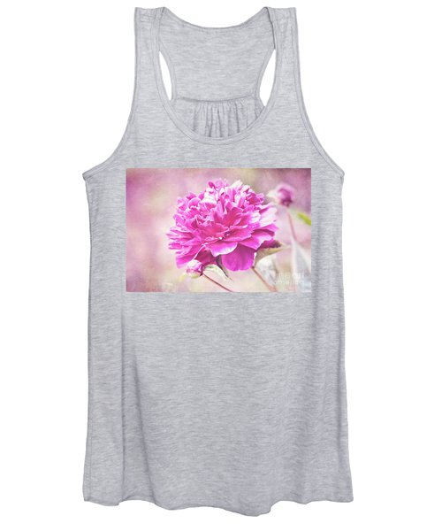 Glorious Pink Peony Women's Tank Top