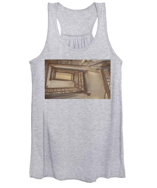 Going Up...evens Hall Carleton College Women's Tank Top