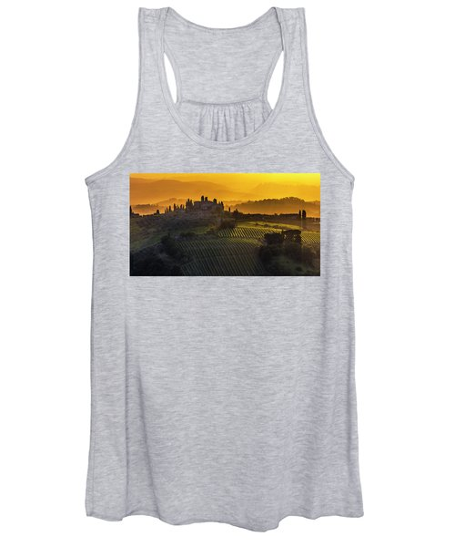 Golden Tuscany Women's Tank Top