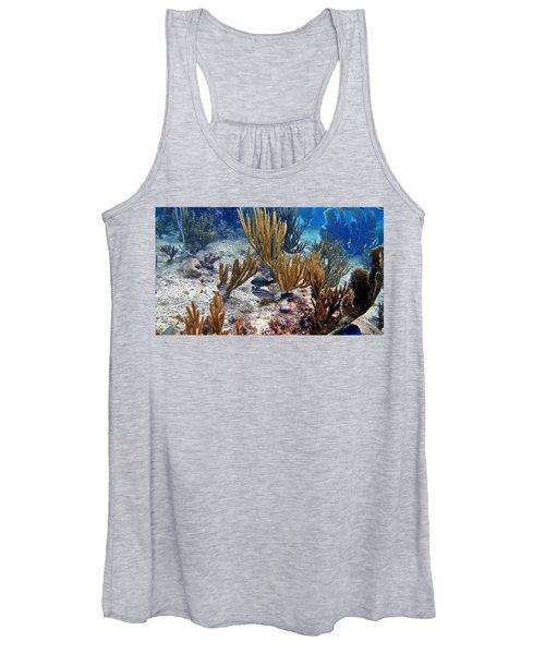 Gorgonian Parrotfish Women's Tank Top