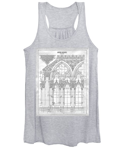Gothic Arches Women's Tank Top