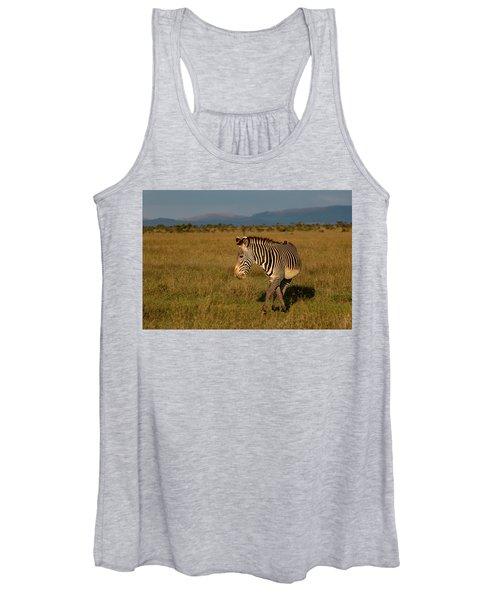 Grevy's Zebra Women's Tank Top