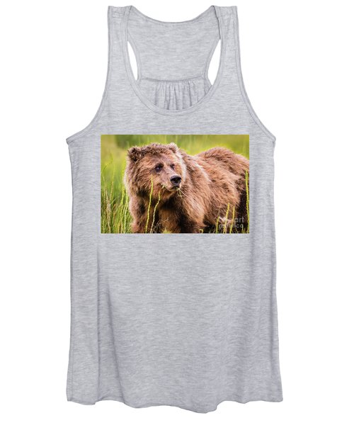 Grizzly In Lake Clark National Park, Alaska Women's Tank Top
