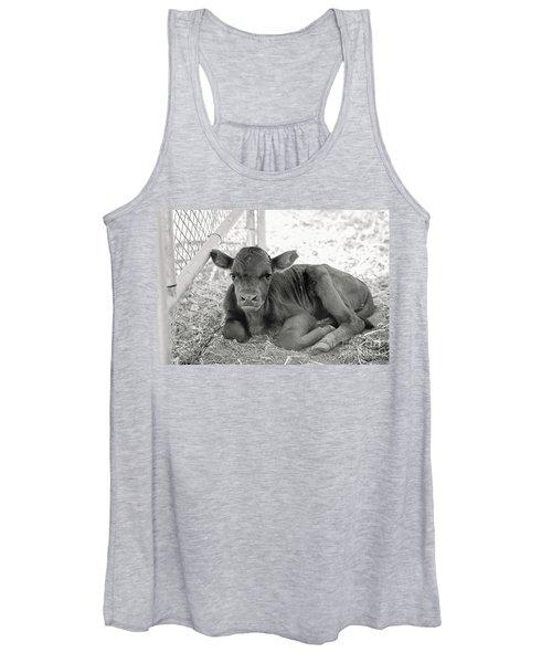 Grumpy Cow Women's Tank Top