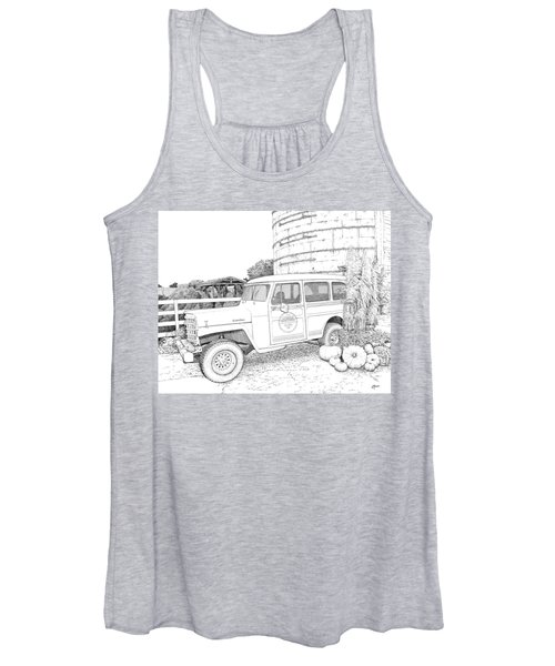 Harvest At Magnolia - Ink Women's Tank Top