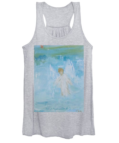 Heavenly Angel Child Women's Tank Top