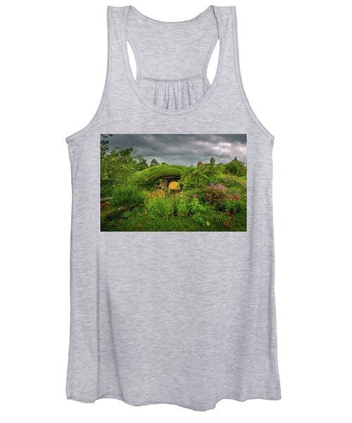 Hobbit Garden In Bloom Women's Tank Top